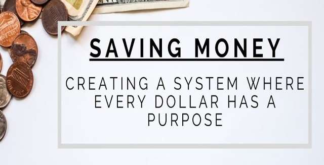 Saving Money – Creating a System Where Every Dollar Has a Purpose