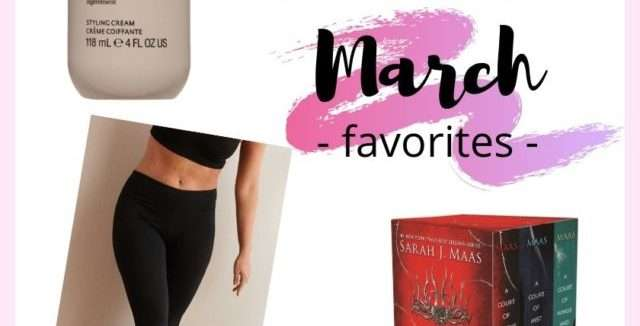 March 2020 Favorites