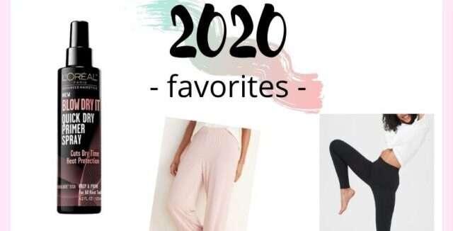 2020 Favorites