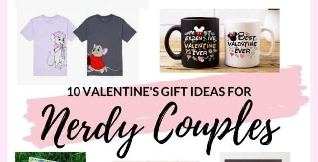 Valentine's Gift Ideas for Nerdy Couples