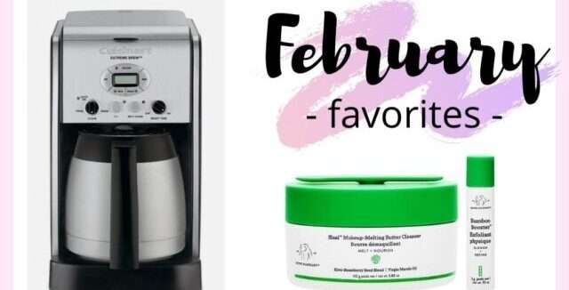 February 2021 Favorites