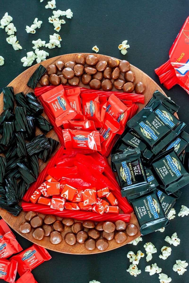 black widow movie snacks