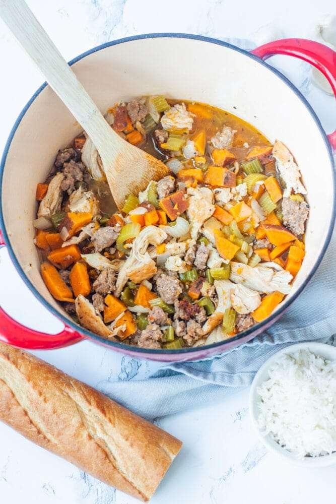 one pot chicken stew