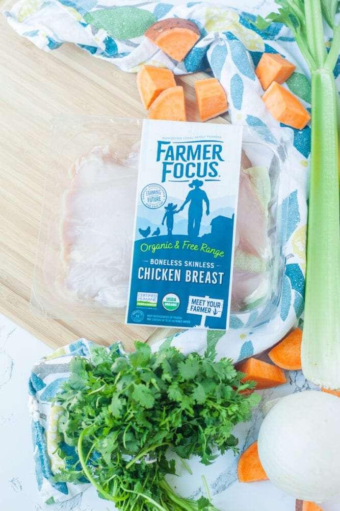 farmer focus organic chicken