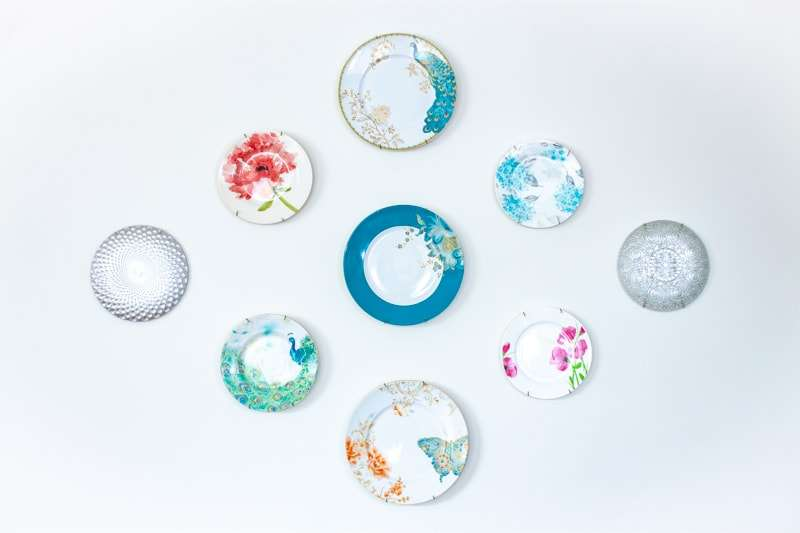 decorative plate gallery wall