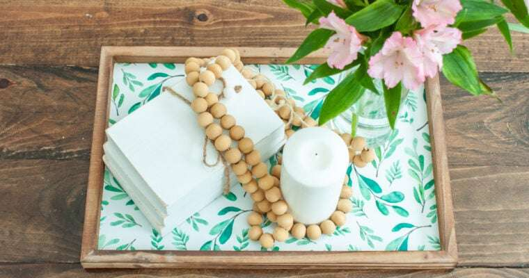 Tray Decor Ideas Featuring Decocrated Trays