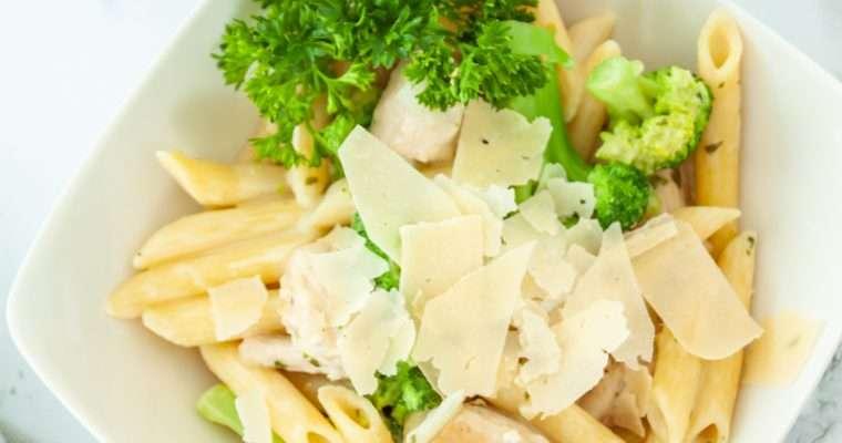 Creamy Chicken Broccoli Pasta Recipe